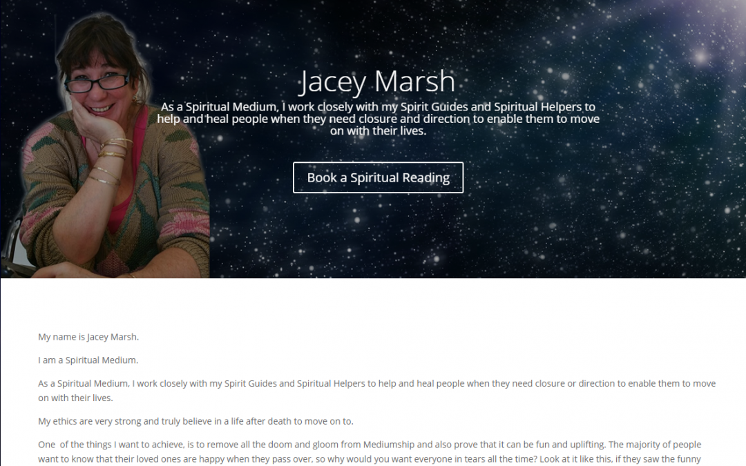 Jacey Marsh Spiritual Medium