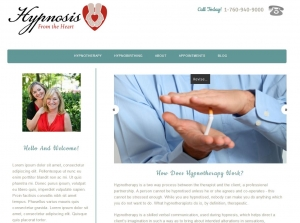 Hypnosis wordpress customised