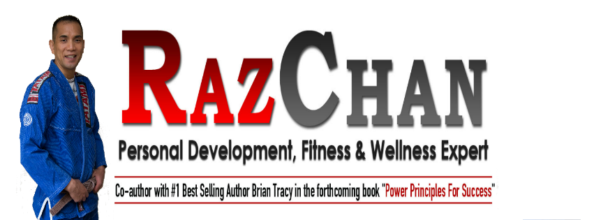 Raz Chan – Personal Development, Fitness & Wellness Expert