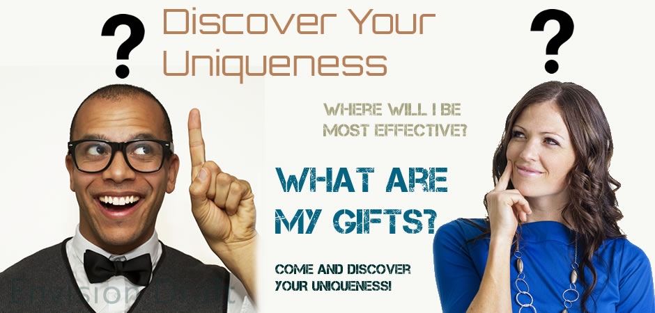 Discover your uniqueness – Artwork